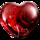 心语红宝石徽章
